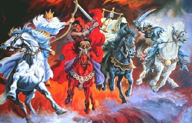 四頭の馬に乗る者たちの正体