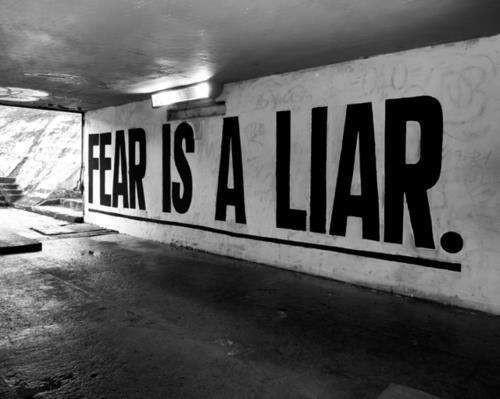 恐れは偽りの霊である-恐れこそを恐れよ!