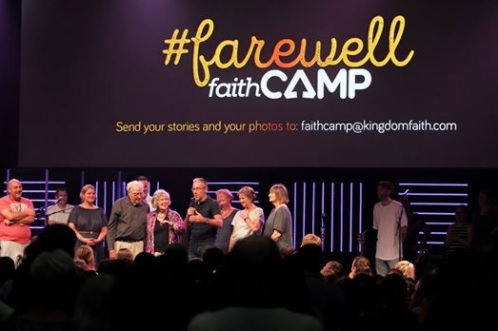 Colin's Word on Farewell Faith Camp 2018