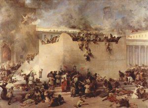 紀元70年と81年に裁きは行われたと再建主義者